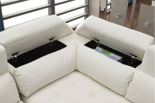 F6977 In By Poundex In Orlando Fl 2 Pcs Sectional Sofa