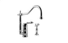 Canterbury Kitchen Faucet w/ Side Spray