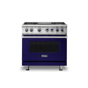 "Viking36"" Sealed Burner Gas Range - VGR7362 Viking 7 Series"
