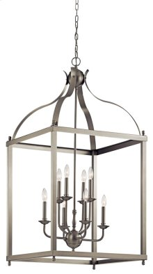 Larkin 8 Light Foyer Pendant Brushed Nickel