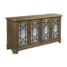 Hidden Treasures Rustic Door Console