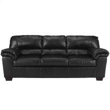 Signature Design by Ashley Commando Sofa in Black Leather [FSD-2129SO-BLK-GG]