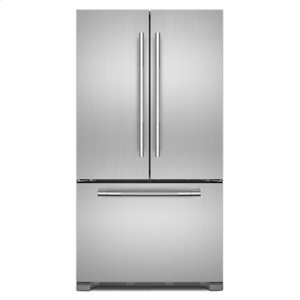 "JennAirRISE 36"" French Door Freestanding Refrigerator"