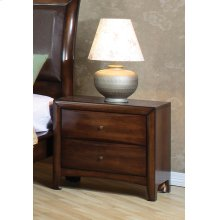 Hillary Light Coffee Two-drawer Nightstand