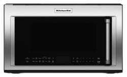 "950-Watt Convection Microwave with Convection Cooking - 30"" - Black Stainless"