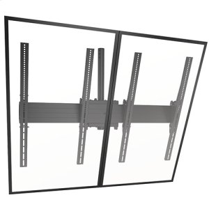 Chief ManufacturingFUSION Large Ceiling Mounted 2 x 1 Portrait Menu Board