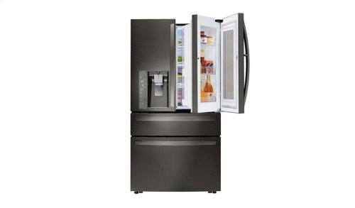 23 cu. ft. Smart wi-fi Enabled InstaView Door-in-Door® Counter-Depth Refrigerator