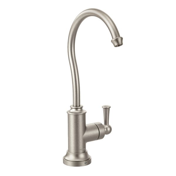 Sip Traditional spot resist stainless one-handle beverage faucet