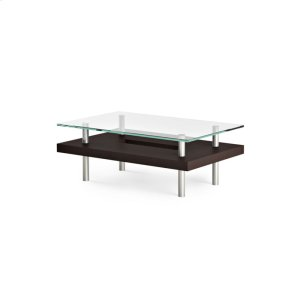 Bdi FurnitureSmall Rectangular Coffee Table 2302 in Espresso