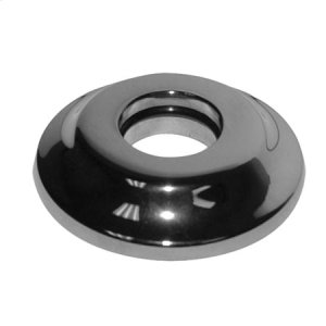 Flat Black Shower Arm Flange