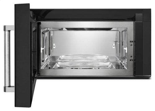 1000-Watt Convection Microwave Hood Combination - Black Stainless