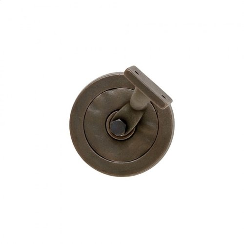 Designer Textures Handrail Bracket Silicon Bronze Dark with Flower