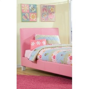 Pink Upholstered Headboard, 3/3