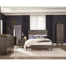 Tarah Industrial Graphite Eastern King Bed