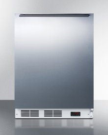 Built-in Undercounter Medical All-freezer Capable of -25 C Operation, With Wrapped Stainless Steel Door and Horizontal Handle