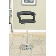 F1555 / Cat.19.p63- ADJUSTABLE BARSTOOL BLK