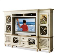 Coventry Left Hand Pier Weathered Driftwood/Dover White finish