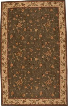 Hard To Find Sizes Grand Parterre Va01 Olive Rectangle Rug 8' X 13'