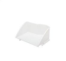 White Ice Cream Shelf