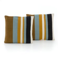 Multi Stripe Pillow, Set of 2-20""