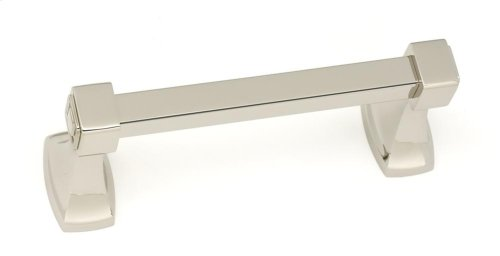 Cube Swing Tissue Holder A6562 - Polished Nickel