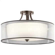 Lacey Collection Lacey 5 Light Semi Flush Ceiling Light - MIZ