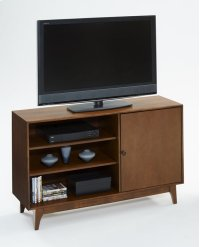 "50"" Media Console - Cinnamon Finish Product Image"