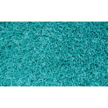 Shaggy rug, Turquoise color