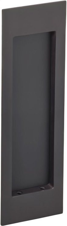 Modern Rectangular Flush Pull in (US10B Oil-Rubbed Bronze, Lacquered)