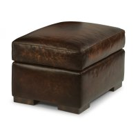 Prescott Leather Ottoman Product Image