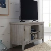 54 Inch TV Console - White Product Image