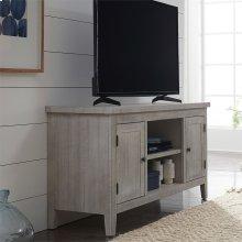 54 Inch TV Console - White