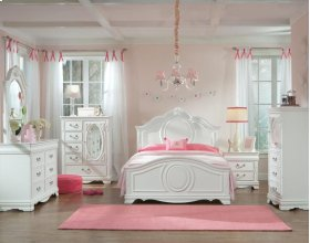 Jessica Twin Size 7 Piece Bedroom Set