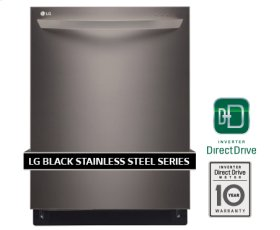 CLOSEOUT - LG Black Stainless Steel Series Fully Integrated Dishwasher With Truesteam Generator