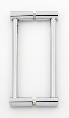 Contemporary I Back-to-Back Pull G715-6 - Polished Chrome