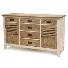 6 Drawer / 2 Door Dresser