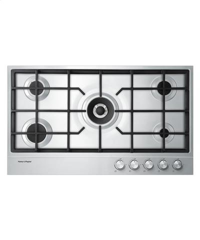 "36"" Gas on Steel Cooktop Product Image"