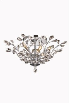 2011 Orchid Collection Flush Mount Chrome Finish