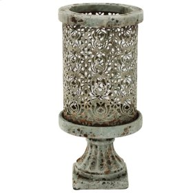 "HP0630  D6x12"" Dawn Candle Holder, Large 6EA/CTN"