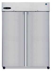Freezer, Two Section Upright, Full Stainless Door