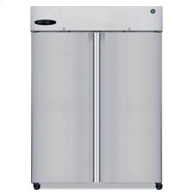 Refrigerator, Two Section Upright, Full Stainless Door