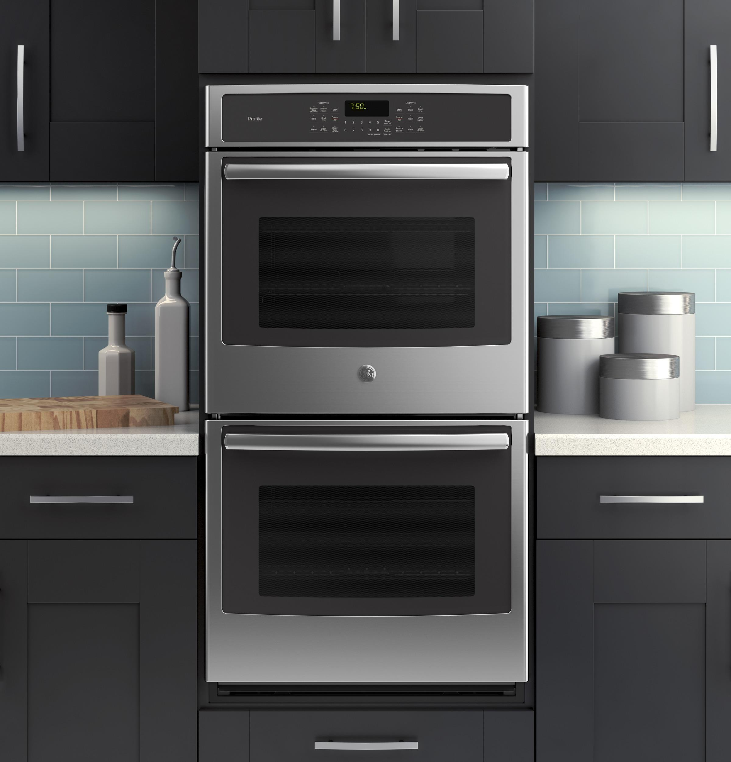Ge Profile 226 162 Series 27 Quot Built In Double Wall Oven With