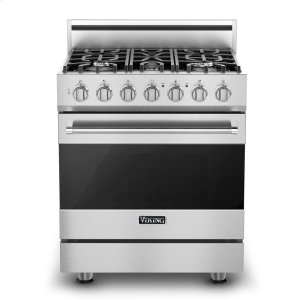 "Viking30"" Self-Cleaning Dual Fuel Range, Propane Gas"