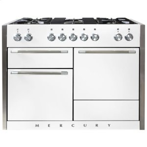 White AGA Mercury Dual Fuel Range  AGA Ranges - WHITE