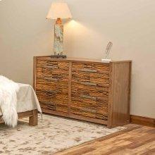 Riley 8 Drawer Dresser With Bark Tile