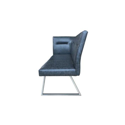 Contemporary Grey Right Side Facing Corner Bench