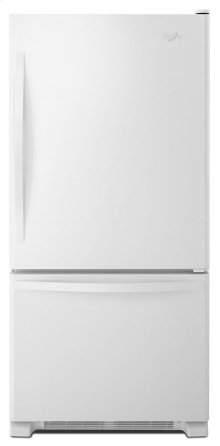 *SCRATCH AND DENT* 33-inches wide Bottom-Freezer Refrigerator with SpillGuard Glass Shelves - 22 cu. ft