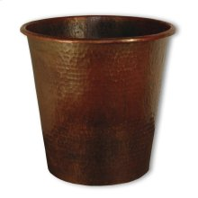 Antique Copper Copper Waste Bins