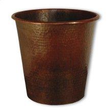 Antique Copper Copper Waste Bins