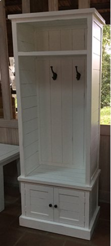 Artisan's Craft Hall Tree Base - Washed Grey